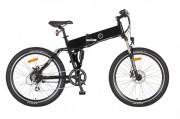 Vélo pliant sport électrique - Autonomie : 65 Km - Cadre : Aluminium 6061