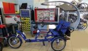Vélo taxi électrique - Assistance électrique  -  Clignotants