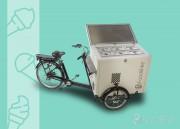 Vélo Triporteur à glace - Vélo triporteur pour la vente de crème glacée