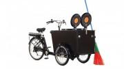 Vélo triporteur collecte des déchets - Disponible avec ou sans assistance électrique
