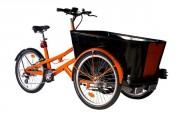 Vélo triporteur électrique pro - Administrations, entreprises et collectivités