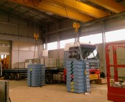 Vente de charges d'essai - Test de conformité des appareils de levage  Capacité : de 25 Kg à 10 tonnes