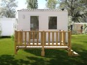 Vente de terrasse en bois pour mobil home