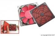 Ventilateur avec filtre anti poussière - Ventilateur avec filtre anti poussière - 80 mm