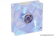 Ventilateur avec lumière bleue - Ventilateur 80mm avec lumière bleue