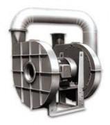 Ventilateur centrifuge acier haute pression serie APRD - Ventilateur special pour process industriel 5000 Pa à 40000 Pa