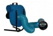 Ventilateur centrifuge portable - Débit de 300 à 1 500 m³/h
