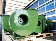 Ventilateur centrifuge professionnel - Basse, moyenne et haute pression