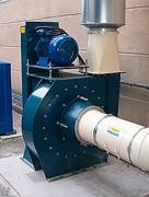 Ventilateur centrifuge transport pneumatique - Ventilateur coupeur / convoyeur