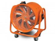Ventilateur extracteur mobile 2000 W - Dimensions (L x l x h)   770 x 770 x 575 mm