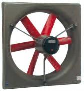 Ventilateur hélicoidal - Dimensions ( larg x Haut ) : de 750 x 750 à 1380 x 1380 mm