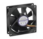 Ventilateur lubrifié - Ventilateur lubrifié à vie - 80x80x25