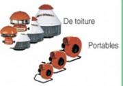 Ventilateurs de désenfumage - De toiture et portable
