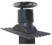 Ventilation cheminée à correcteur de pente - Diamètre : de 350 à 710mm