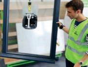Ventouse de manutention électrique autonome - Outil de préhension manutention verre, métal, plastique