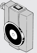 Ventouse Electro-Magnétique avec Presse-Etoupe - Pour montage mural (boîtier en bakélite)