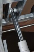 Vérin avec butée mécanique interne - Capacités (Kg) : de 500 à  2000