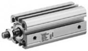 Vérin pneumatique à double effet 20 à 63 mm - Compact CCi