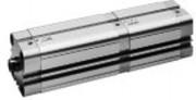 Vérin pneumatique à double effet 25 à 100 mm - Série KPZ-TD