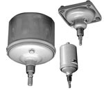 Vérin pneumatique à membrane et à piston série 102 - Série 102  Ø 60 - 250 mm