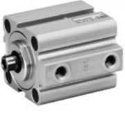 Vérin pneumatique course courte à piston magnétique - Série KHZ