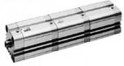 Vérin pneumatique tige de piston 25 à 100 mm - Vérin compact série KPZ-MP