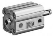 Vérin pneumatique tige de piston prolongée diamètre 20 à 63 mm - Vérin compact CCi