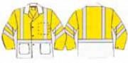 Veste bicolore à personnaliser - 50 couleurs de fond sur demande