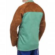 Veste de soudeur homme Lava Brown Weldas - Veste en cuir et proban