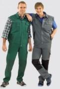Veste de travail sans manche - Tailles : 42 à 64 - Matière : Canvas 320