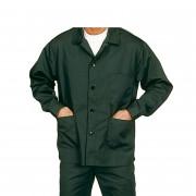 Veste de travail en polyester/coton - Tailles : 1-2-3-4-5-6 - Matière : Polyester/coton