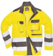 Veste du pluie bicolore haute visibilité - Taille : du S au XXL