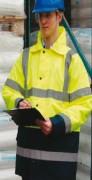 Veste haute visibilité bicolore - Veste conforme à la norme EN471 Classe 2