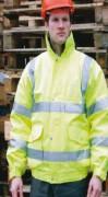 Veste hiver haute visibilité - Veste conforme à la norme EN471