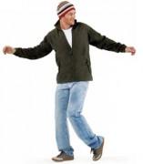 Veste personnalisable zippée - 100% polyester-col montant