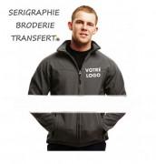 Veste personnalisé coupe vent - 270 g/m²  100% polyester