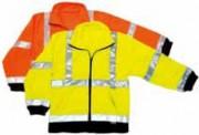 Veste polaire fluo haute visibilité - Tailles disponibles :  Du S au XXXL