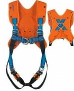 Veste pour harnais de sécurité - Modèle uni-taille en poly-coton Orange
