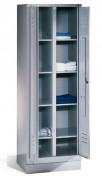 Vestiaire à casier pour salles de sport - Dimensions utile / casier : L 295 x P 485 x H 855 mm