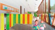 Vestiaire enfants 1 colonne - Hauteur : 1350mm