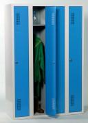 Vestiaire industrie salissante 1 à 3 casiers - Vestiaire de : 1 - 2 ou 3 cases