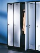 Vestiaire linge avec banc - Dimensions utile / case : L 310 x P 370 x H 180 mm