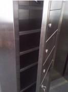 Vestiaire multicases 10 portes - Dimensions (L x P x H) mm :400 x 400 x 2160