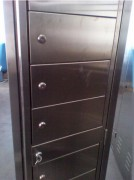 Vestiaire multicases 4 portes - Dimensions (L x P x H) mm : 400 x 400 x 2160