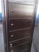Vestiaire multicases 6 portes - Dimensions (L x P x H) mm : 400 x 400 x 2160