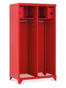 Vestiaire sapeurs pompiers - Dimensions : 1780 x 1000 x 600 mm