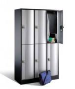 Vestiaire scolaire intelligente - Deux prises de 230 V, fermeture automatique