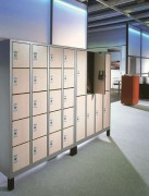 Vestiaires Multicases - Dimensions utiles par casier (H x L x P) : 295 x 230/330 x 465