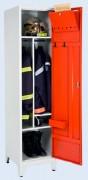 Vestiaires pompiers à casiers - Tôles électrozinguées épaisseur 8/10e - Hauteur 2050 mm