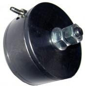 Vibreur pneumatique à bille - Fonctionnement par air comprimé - Diamètre : 60 mm
